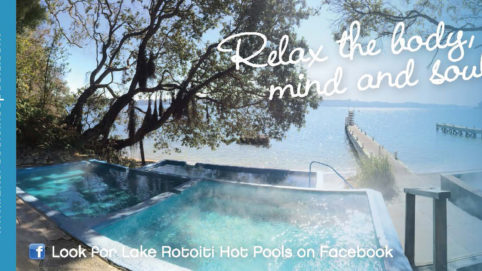 Lake Rotoiti Hot Pools Label
