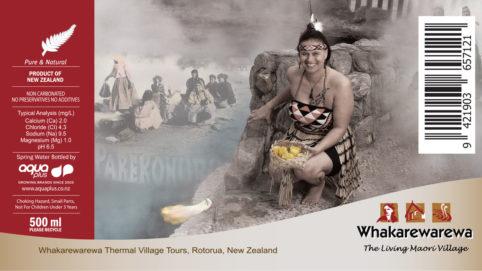 Whakarewarewa Label