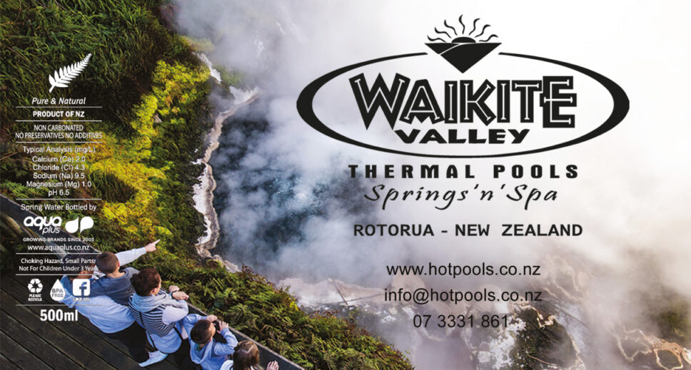 Aquaplus Waikite Valley Label